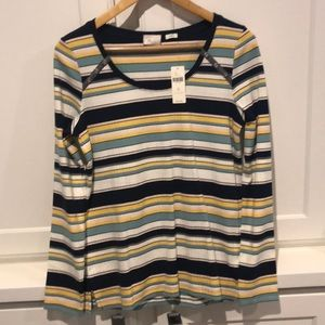 Striped top from Anthropologie. NWT sized medium